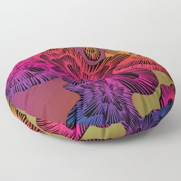electric limpet Floor Pillow