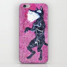 Black Dog Rampage iPhone Skin