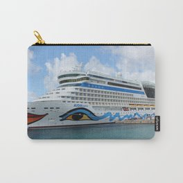 AIDAluna cruise ship anchered off Grenada island Carry-All Pouch