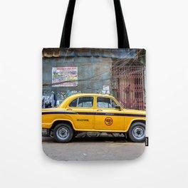 Taxi India Tote Bag