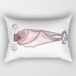 Curl Up & Go To Sleep Rectangular Pillow