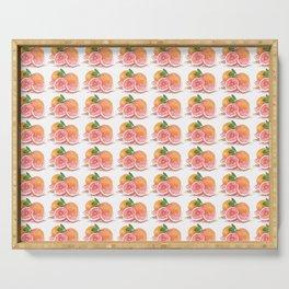 Grapefruit Serving Tray