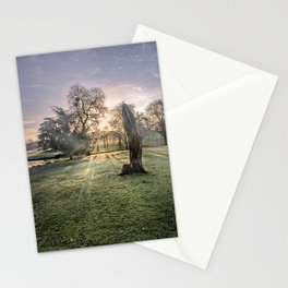 Morning Sun At Leeds Stationery Cards