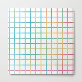 Colors from the rainbow Metal Print