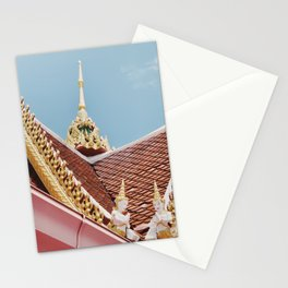 Thai Temple Roof Stationery Cards