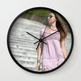 vita e bella 2 Wall Clock