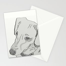Dachshund That Look Stationery Cards