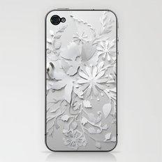 Elegant White iPhone & iPod Skin