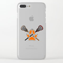 Palmetto State Foxes Exy Crest Clear iPhone Case