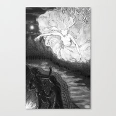 The Corn Legend Canvas Print