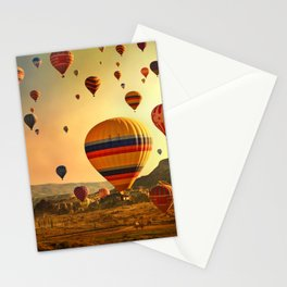 Hot Air Balloons at Sunrise in Cappadocia Stationery Cards