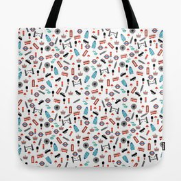 London Icons Tote Bag