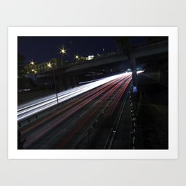 U.S. Route 101 Art Print