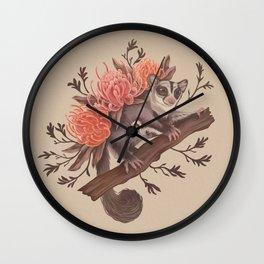 Sugar Glider Wall Clock