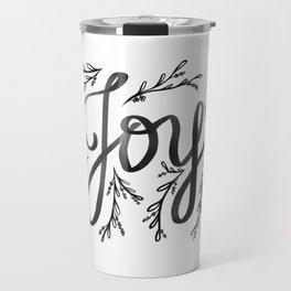 Joy and mistletoe Travel Mug
