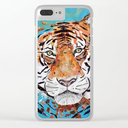 Sumatran Tiger Clear iPhone Case