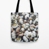 antique Tote Bags featuring antique  by n o a h