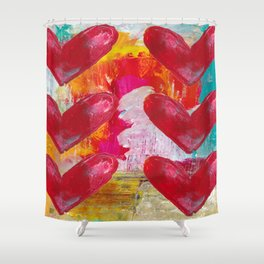 SO MUCH LOVE Shower Curtain