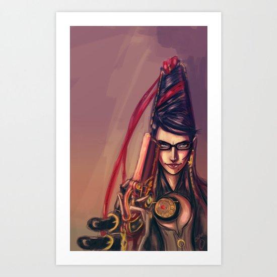 Bayonetta Art Print
