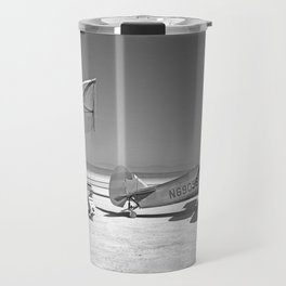 Paresev 1-A on Lakebed with Tow Plane Travel Mug