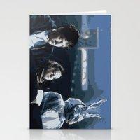 donnie darko Stationery Cards featuring Donnie Darko by Kevin Patrick Reilly II