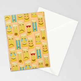 Tiki Emojis by Naoma Serna Stationery Cards