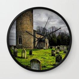 Gothic. Bulging, St John the Baptist. Wall Clock
