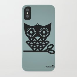 Blue Hoot iPhone Case