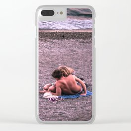 Sunset photo Clear iPhone Case