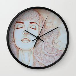 Lights turned out Wall Clock