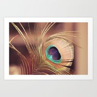 metallic Art Prints featuring Metallic by BURNEDINTOMYHE∆RT♥