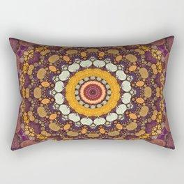 Enchanted Autumn -- Mandala Form Rectangular Pillow