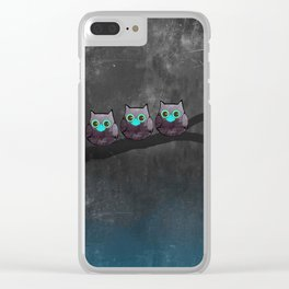 OWL-51 Clear iPhone Case
