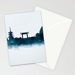 Kyoto Skyline Stationery Cards