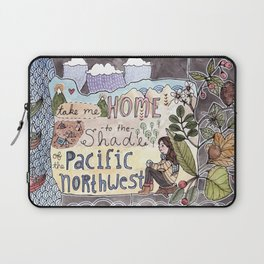 Take Me to the Shade Laptop Sleeve