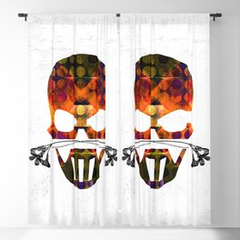 SKULL v1 Blackout Curtain