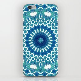 Sea Green Mandala iPhone Skin