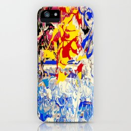 Abstract painting  - Sunset over The Sea iPhone Case