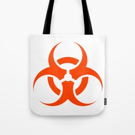 Biological Hazard Symbol Tote Bag