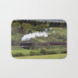 Steam Train North York Moors Bath Mat