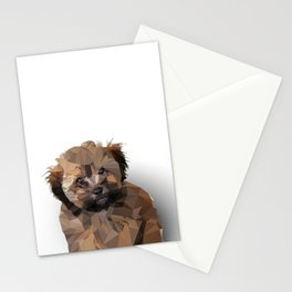 Cocoa, the puppy Stationery Cards