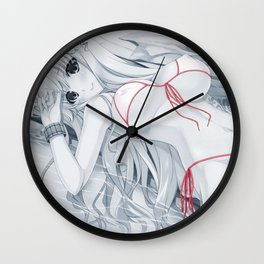 Sexy Water Wall Clock
