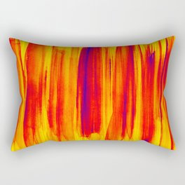 hot colors Rectangular Pillow