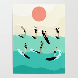 Party Wave Poster