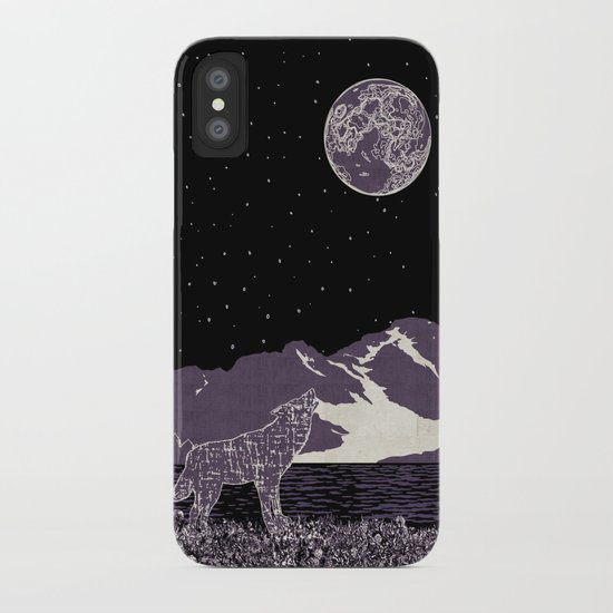 Wolf 1 iPhone Case