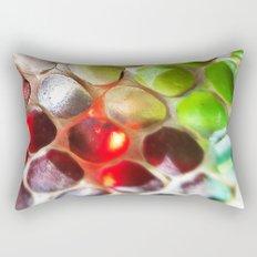 Snakeskin & Beads Rectangular Pillow