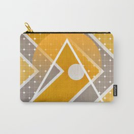 Fish - triangle sunset Carry-All Pouch