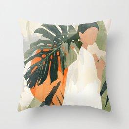 Jungle 3 Throw Pillow