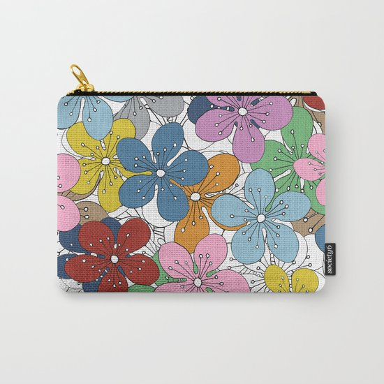 Cherry Blossom Colour - In Memory of Mackenzie Carry-All Pouch