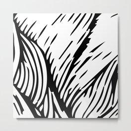 woodcut Metal Print